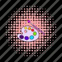 artist, artistic, brush, comics, creative, paint, tool icon