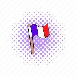 comics, country, flag, france, french, nation, national icon