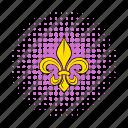 comics, emblem, fleur, flower, france, french, lily