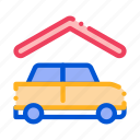 car, covered, parking, vehicle