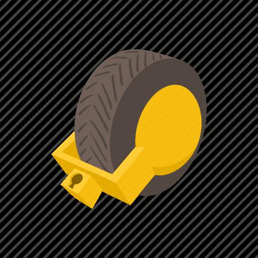 automobile, car, lock, safety, transport, vehicle, wheel icon