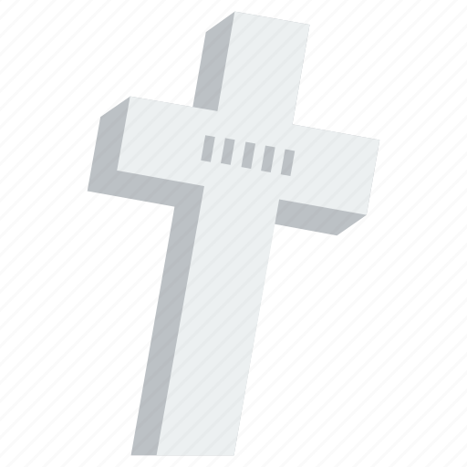 Cross, grave, graveyard, halloween, tomb, tombstone, horror icon - Download on Iconfinder