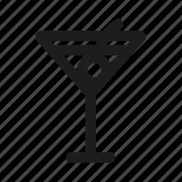 alcohol, bocal, fun, martini, party icon