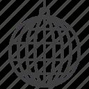 ball, disco, mirror, party icon