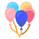 balloons, celebration, decoration, party