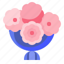 blossom, bouquet, flower, nature, wedding icon
