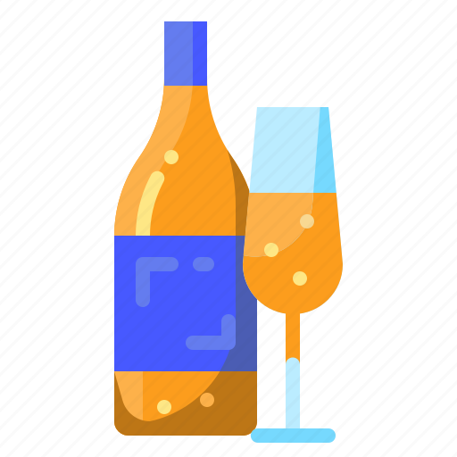 Alcohol, alcoholic, bottle, celebration, drinks, party, wine icon - Download on Iconfinder