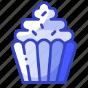 bakery, cupcake, food, muffin