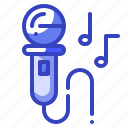 karaoke, microphone, music, party icon