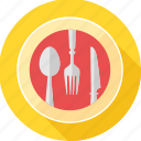 cutlery, dining, dinner, food, kitchen, restaurant, table icon