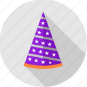 birthday, cap, celebration, cone, decoration, hat, party icon
