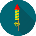 celebrate, celebration, cracker, crackers, firecrackers, fireworks, rocket icon