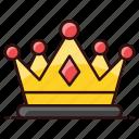 crown, headgear, headwear, nobility, royal crown, royalty icon