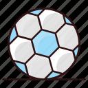 ball, sports equipment, soccer, football, sports accessory icon