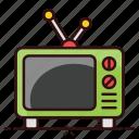 vintage tv, tv set, electronics, tv, retro tv, retro icon