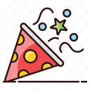 celebration firecracker, entertainment, firecracker, firework, petard, rocket icon