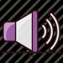 high volume, loudspeaker, output device, sound, sound speaker, volume icon