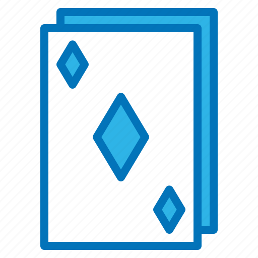 cards, diamond, gambling, game, party icon