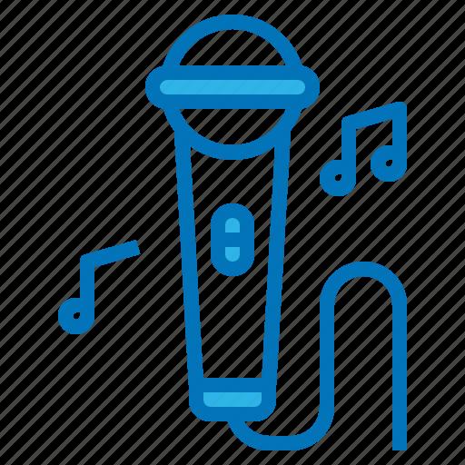 karaoke, music, party, sing, singer icon