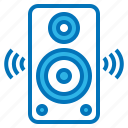 dance, music, party, song, speaker icon