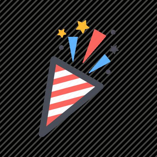 birthday, cake, celebrate, color, entertain, happy, party icon