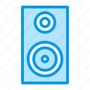 audio, equipment, music, speaker icon