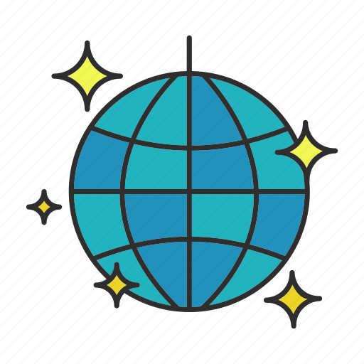 Ball, dancing, decoration, disco, nightclub, party, shine icon - Download on Iconfinder