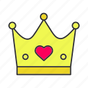 accessory, crown, king, party, princess, queen, royal