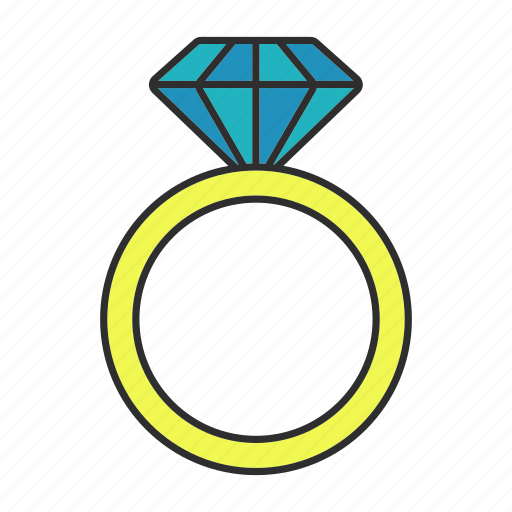 Accessory, diamond, engagement, jewellery, proposal, ring, wedding icon - Download on Iconfinder