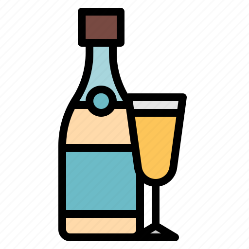 alcohol, beverage, champagne, drinks, party icon
