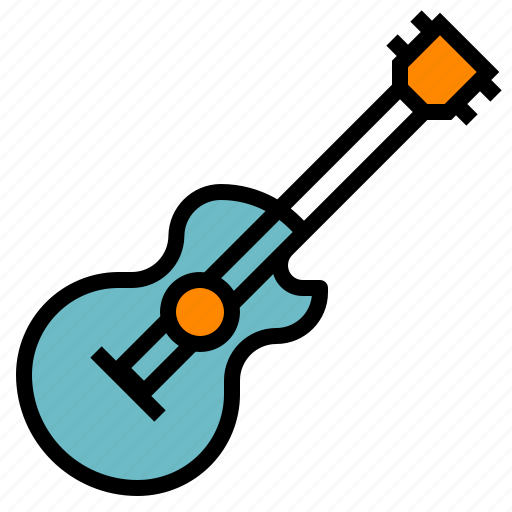 guitar, instrument, music, musical, party icon