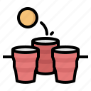 party, beer, pong, cup