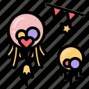 party, celebration, balloon, decoration, balloons