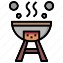 bbq, food, grill, restaurant, tools, utensils icon
