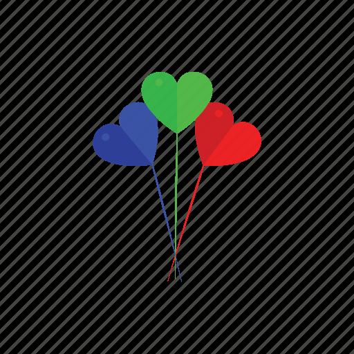 balloons, birthday, happy, party icon