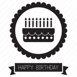 birthday, card, greeting, greetings, happy, label icon