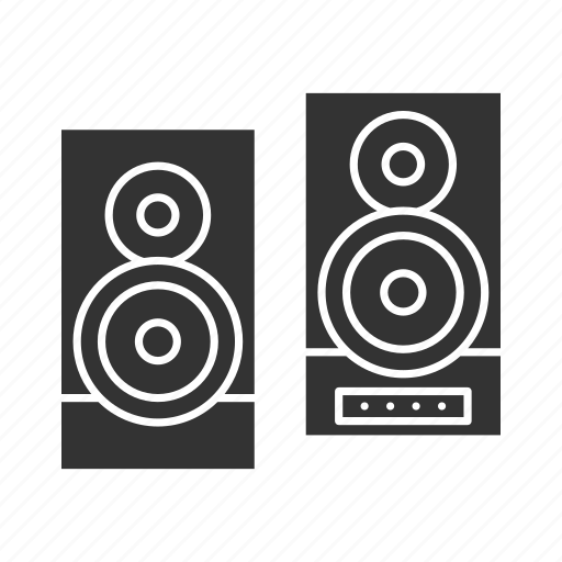 audio, disco, loudspeaker, music, party, stereo, system icon