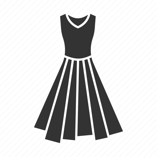 apparel, clothing, dress, female, garment, outfit, woman icon