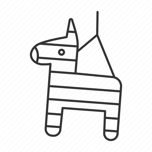 candy, children, game, horse, mexican, party, pinata icon