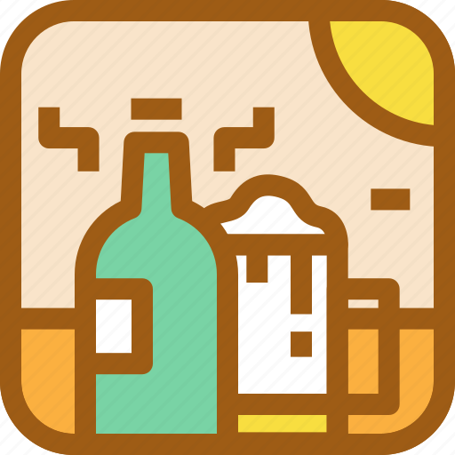 alcohol, beer, beverage, drink, drunk, food, party icon