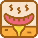 barbecue, bbq, meat, night, party, sausage icon