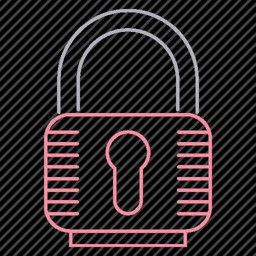 lock, padlock, password, protection, security icon