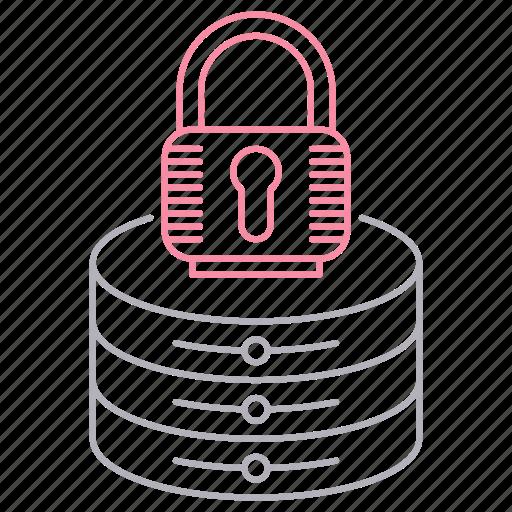 lock, password, protection, security, server icon