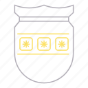 password, protection, security, shield icon