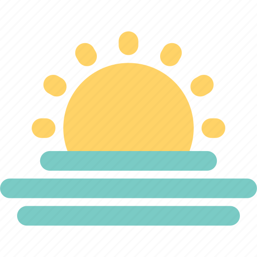 forecast, sun, sunny, sunrise, sunup, weather icon