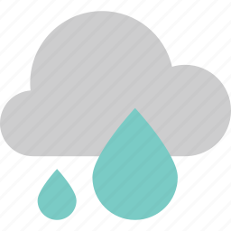 anubarrado, cloud, cloudy, forecast, rain, raindrop, weather icon