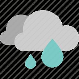 anubarrado, forecast, rain, raindrop, rainy, waterdrop, weather icon
