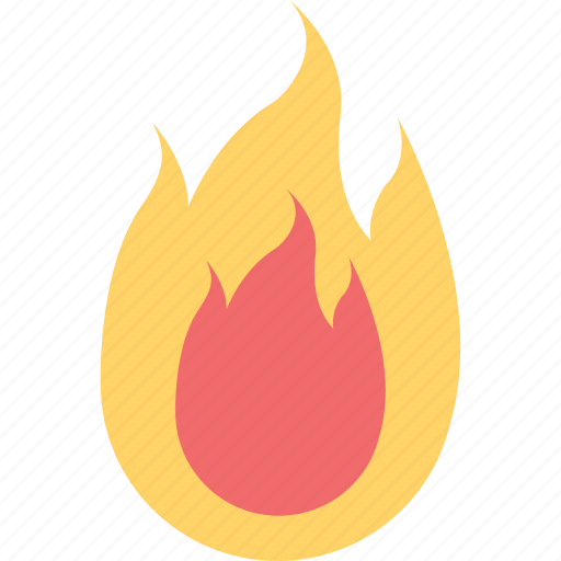 fire, forecast, hot, summer, weather icon