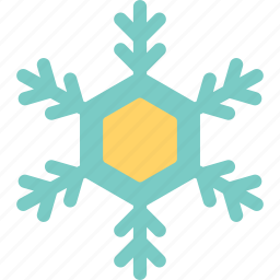 crystals of snow, forecast, snow, weather icon
