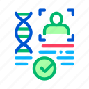 confirmation, dna, document, file, paternity icon